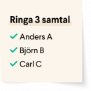 Post-it sand - ringa 3 samtal - v1